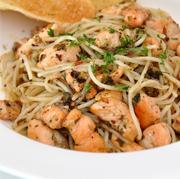 salmon-aglio-olio