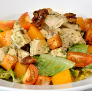 Mango and Chicken chopped salad