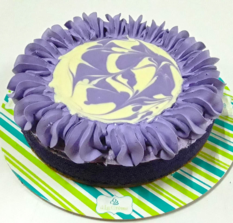 Ube Cheese Cake
