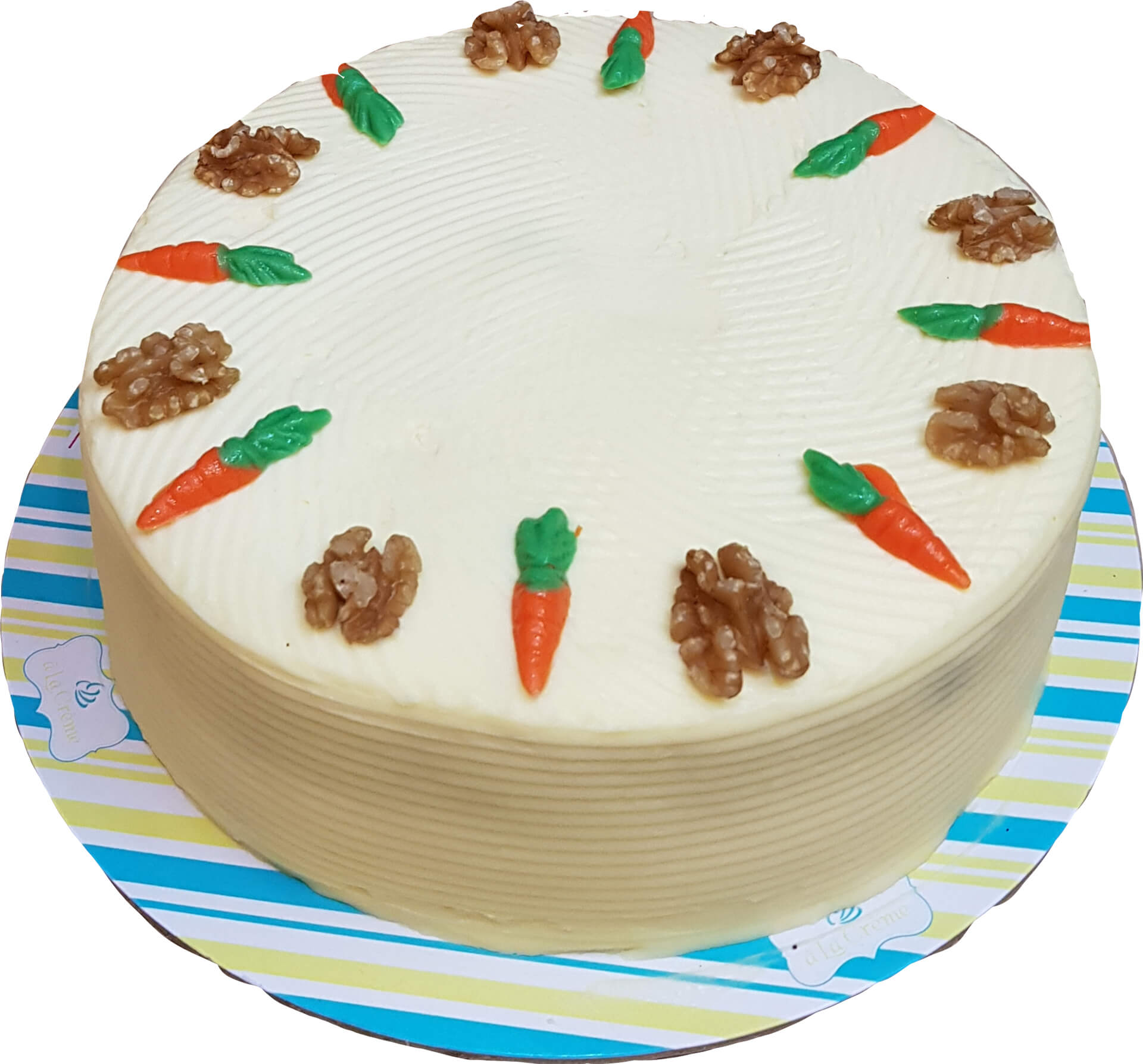 Carrot - Walnut Cake