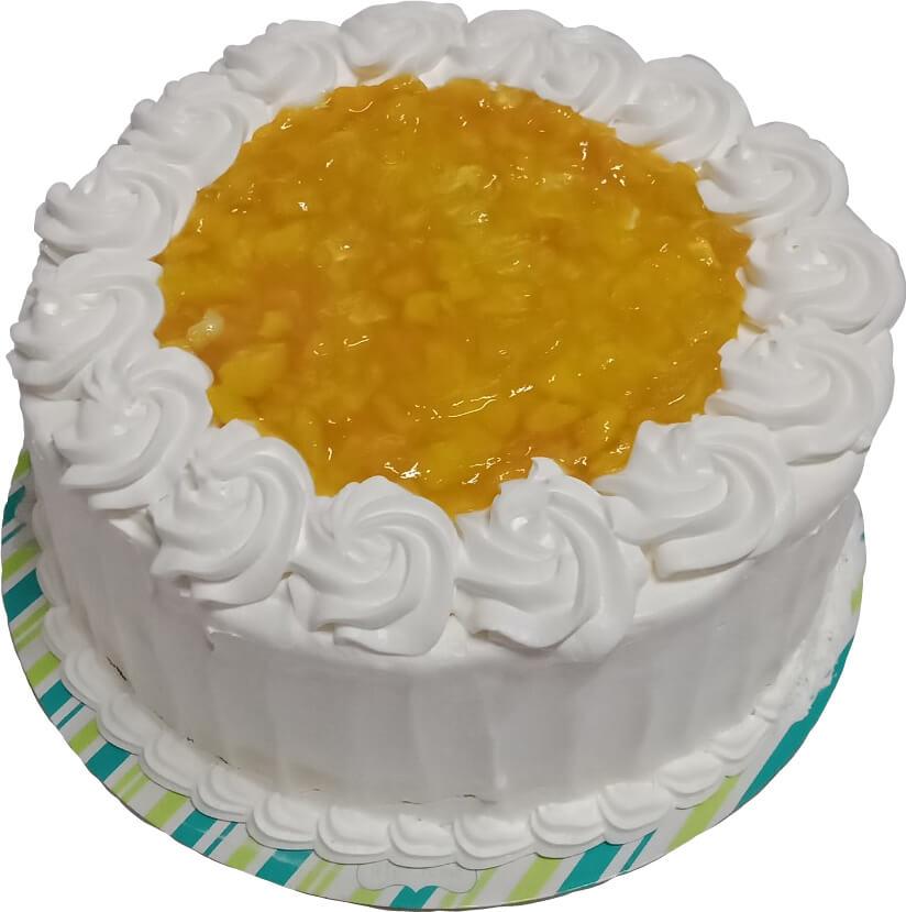 Mango - Choco Walnut Torte